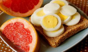 Яично грейпфрутовая