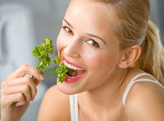 Результаты на вегетарианской диете